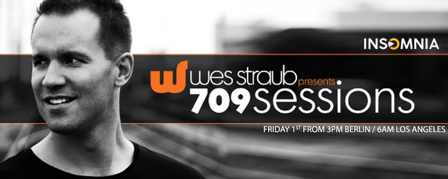 709Sessions with Wes Straub