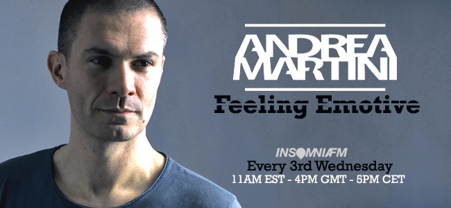 Feeling Emotive with Andrea Martini