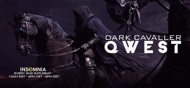 Qwest with Dark Cavaller