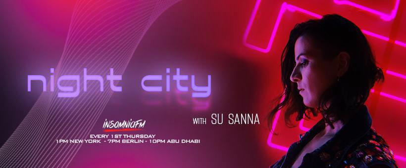 Night City with SU SANNA